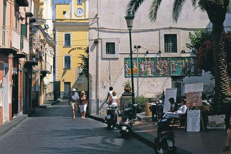 The village of Ischia Ponte